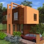 Еднофамина къща на калкан