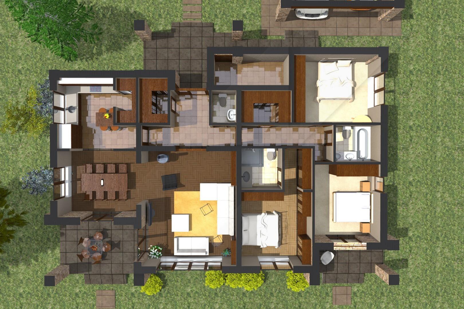 - Construir casas en 3d ...