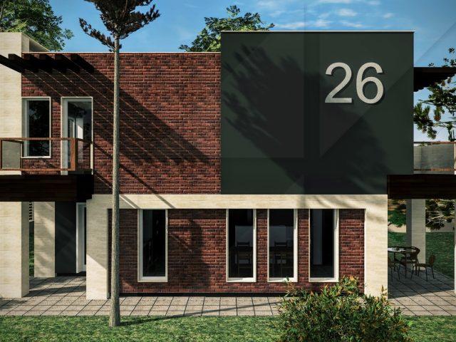 Външно обновление на къща в Горна Баня.