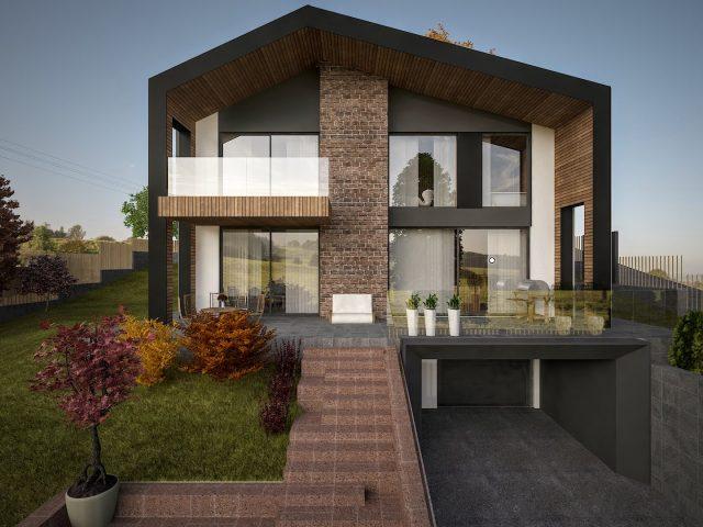 Проект за еднофаминла къща!