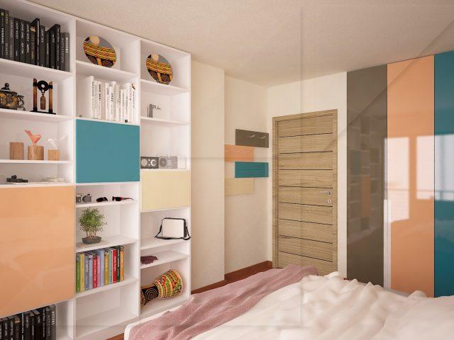 Проект за обзавеждане на спалня.