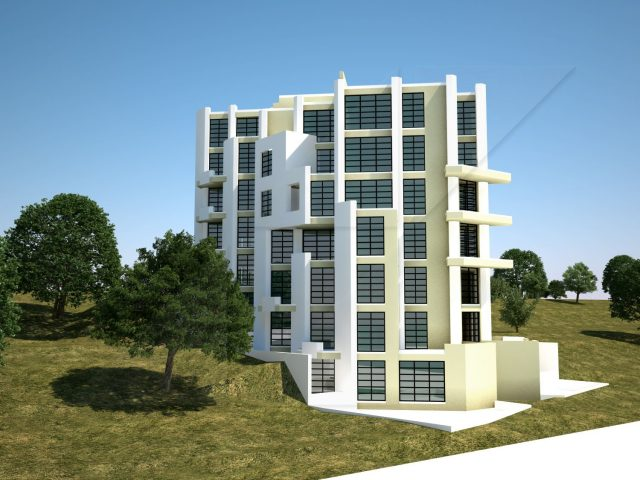 Hotel in Balchik. Concept project