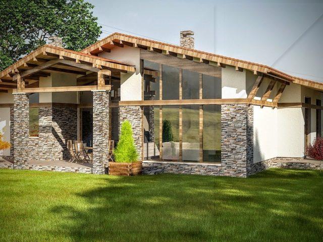 Архитектура на къща в Правец.