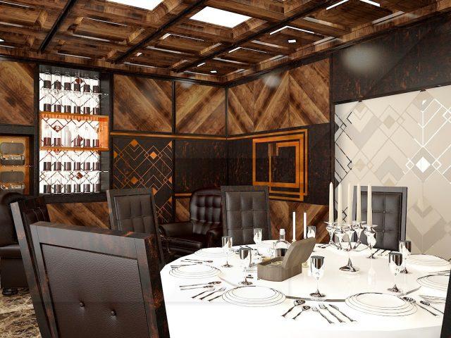 ВИП зала на столичен ресторант