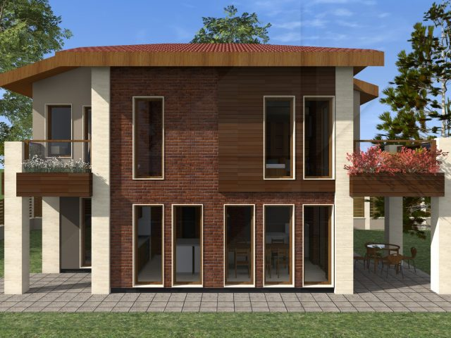 Exterior project in Gorna Banya