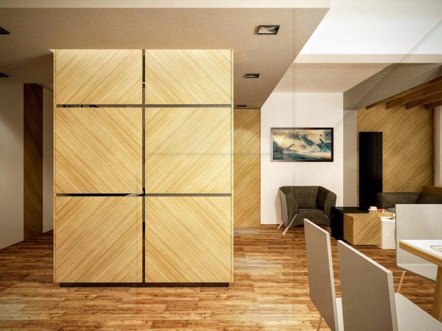 Вътрешен дизайн на апартамент на бул. Дондуков.