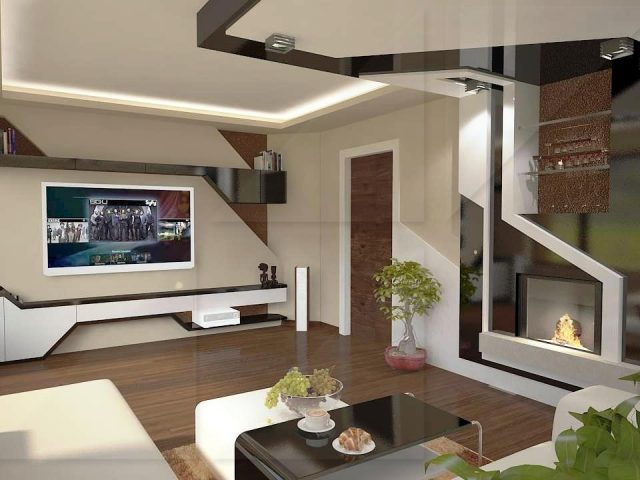 Private house interior design in Bankya.