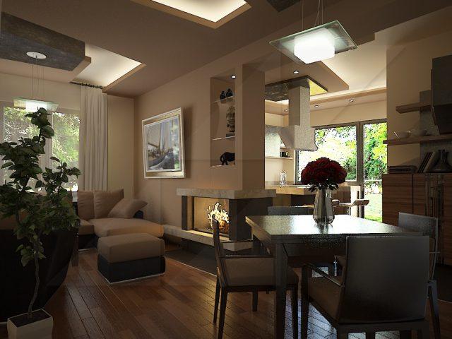 Интериор на апартамент в Ботевград.