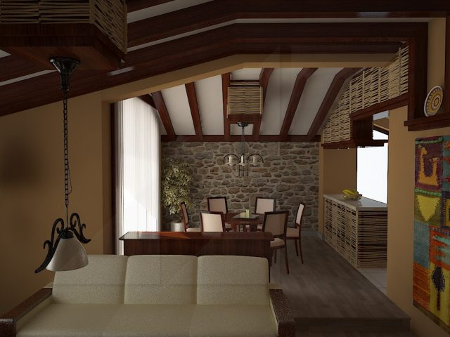 Traditional interior design project