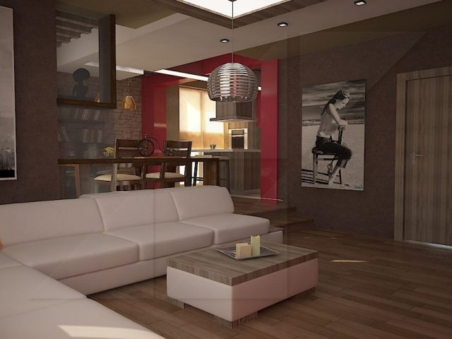 Apartment inteior design.