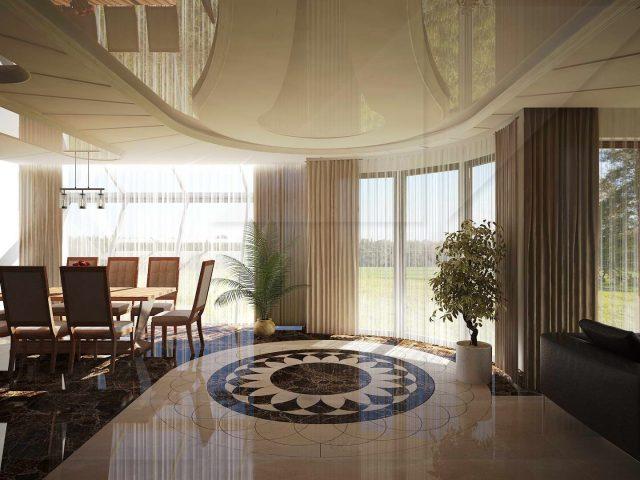 Проект на интериор и дизайн на къща в кв. Драгалевци