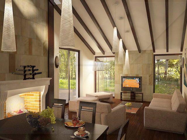 Living room interior design. Boro Concept