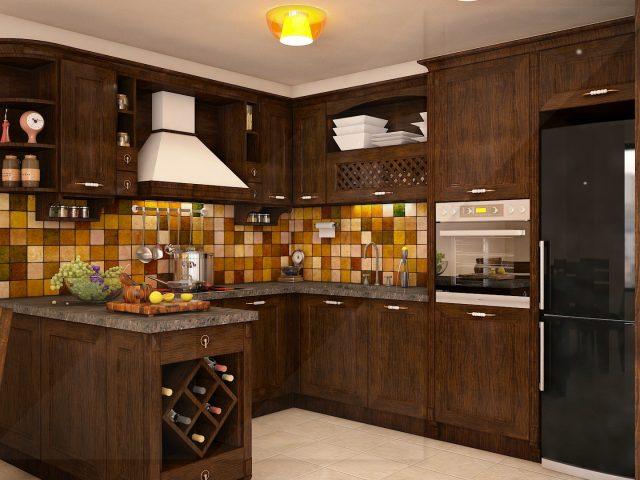 Интериорен проект на кухня