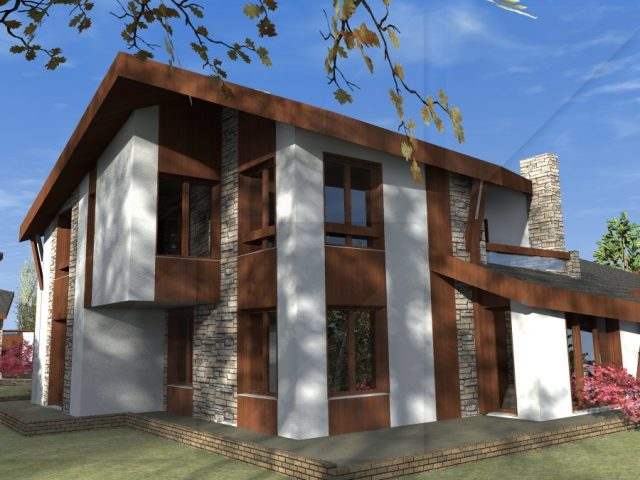 Saphir – 2 story privet house.