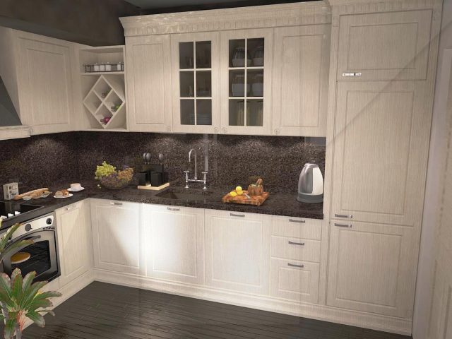 Retro kitchens interior design