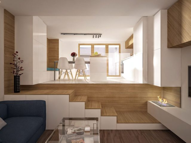 Светъл интериорен дизайн на жилище в Петрич.