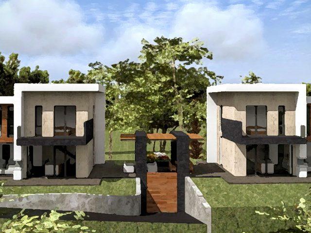 Две къщи в Драгалевци.