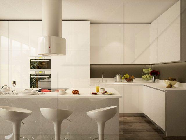 Интериорен на кухня  в Лондон.