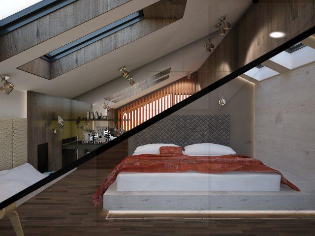 Две спални, един покрив.